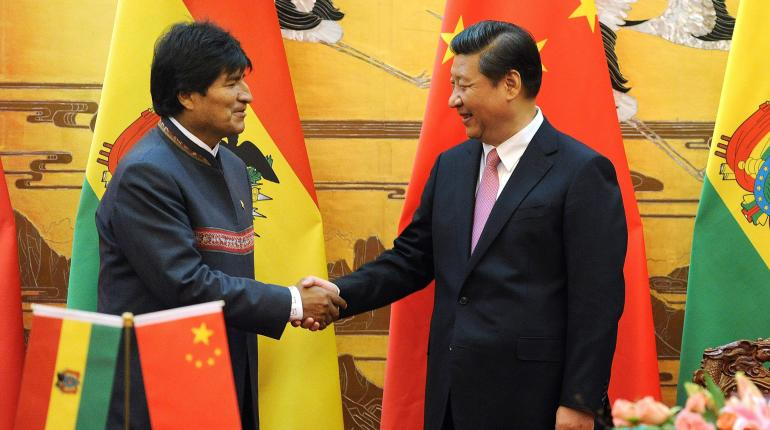 Resultado de imagen para PRESIDENTE BOLIVIANO EN CHINA Xi Jinping.