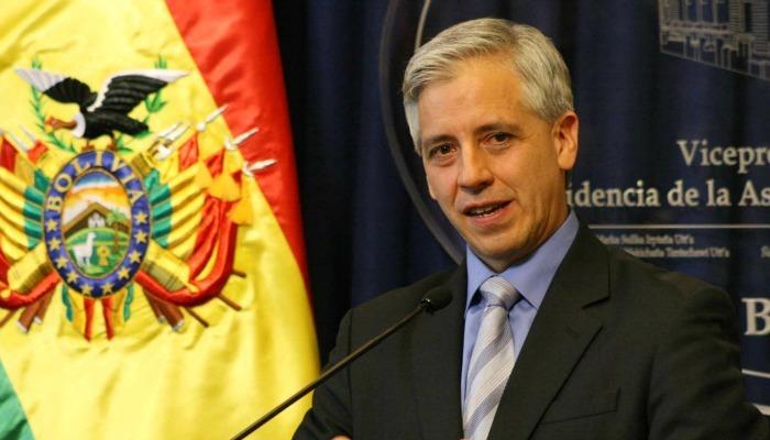 Álvaro García Linera en Argentina