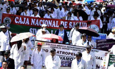 Marcha de médicos