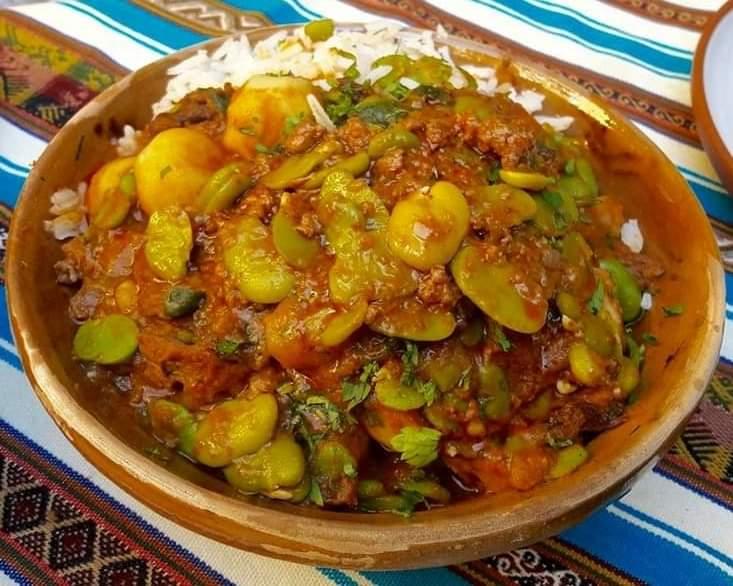 Comida Boliviana: Receta para cocinar Habas Pejtu - Infodiez   Bolivia  Noticias