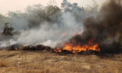 Incendio en Tarija