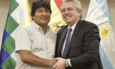 Alberto Fernández acompaña retorno de Evo Morales