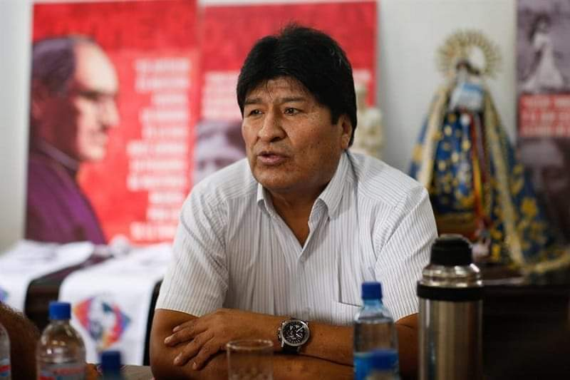 Expresidente Evo Morales