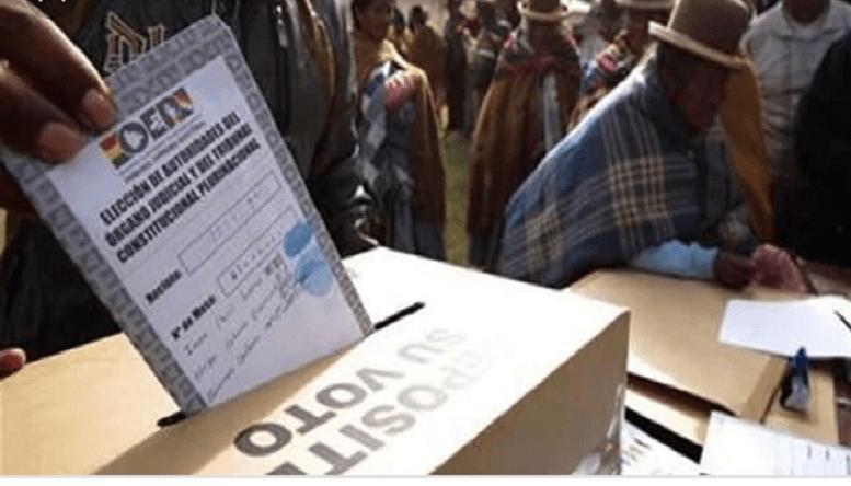 Auditoría a elecciones