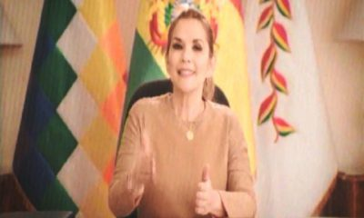 El TSE suspende spot de Jeanine Áñez - www.infodiez.com