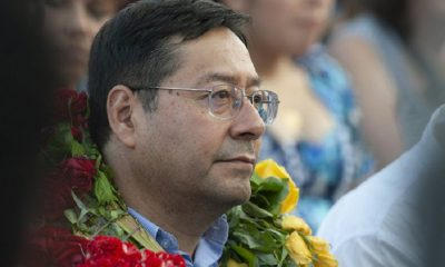 Luis Arce Catacora presidente de Bolivia