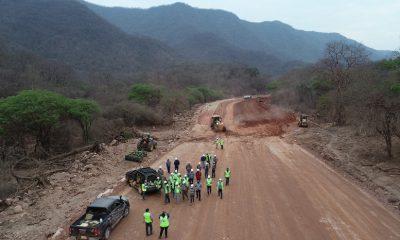 Carretera doble via en el Chaco