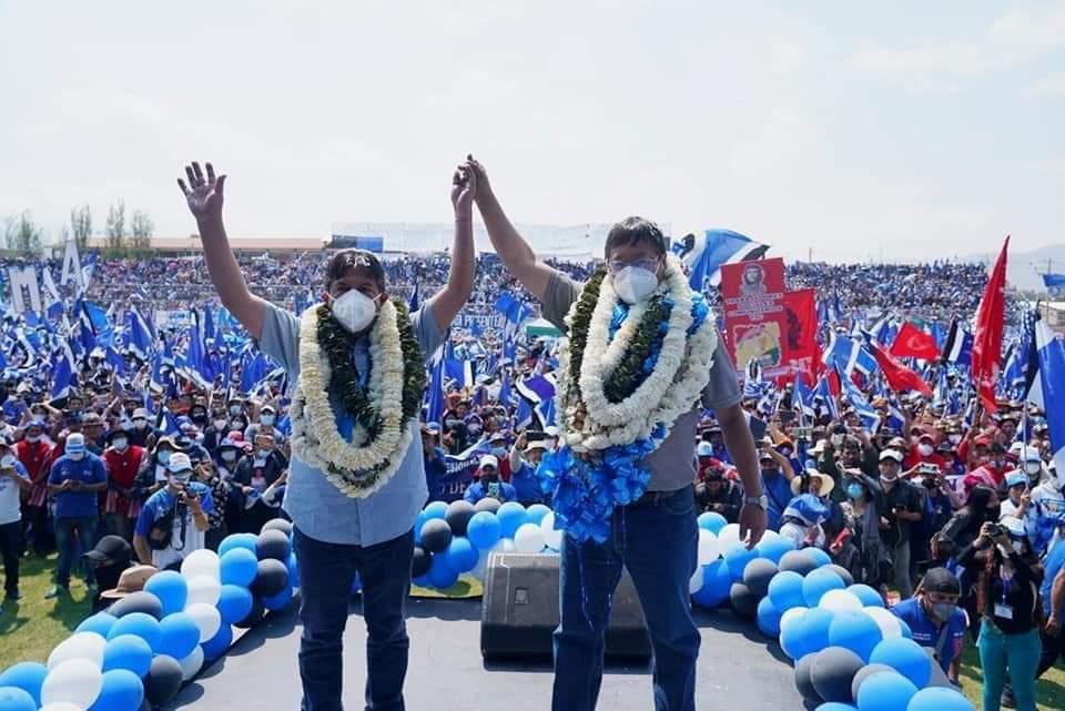 Conteo de votos en el MAS