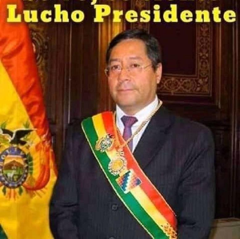 Luid Arce Presidente