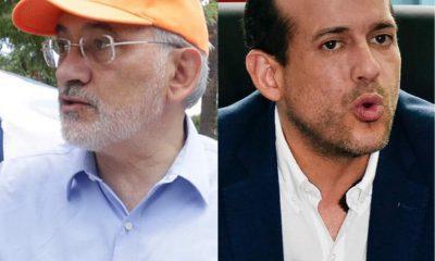 Carlos Mesa y Luis Fernando Camacho