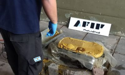 Camión boliviano con cocaína en Salta