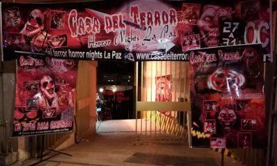 La casa del terror en La Paz