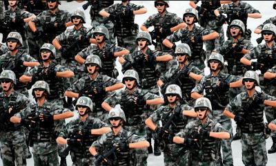 China lista para la guerra
