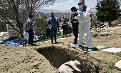 Exhumación de restos de Clavijo