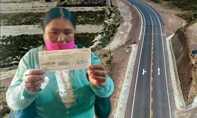 indeminización por afectación de carretera