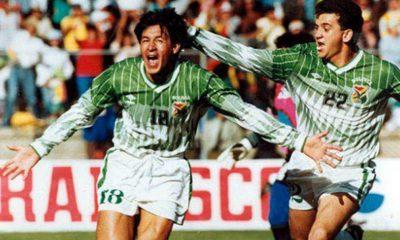 Historia de la selección boliviana en eliminatorias