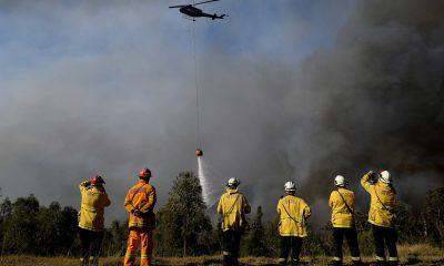 Incendio en Santa Cruz