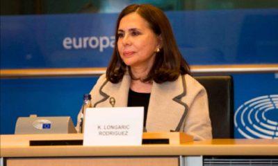 Karen Longaric fue recriminada por el Parlamento Europeo