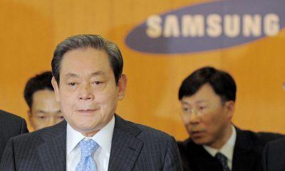 presidente de Samsung Electronics Lee Kun-hee,