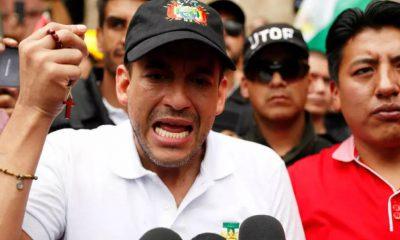 Luis Fernando Camacho reconoce ganador a Luis Arce Catacora