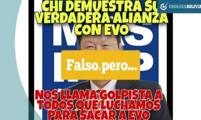 Fake news Bolivia
