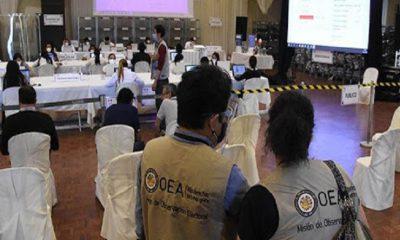 Observadores internacionales en Bolivia