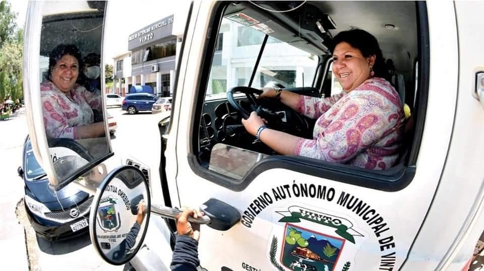 Patricia Arce alcaldesa de Vinto Cochabamba