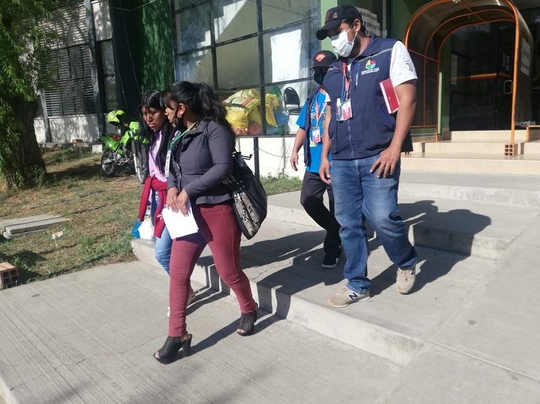 Periodistas detenidas en elecciones