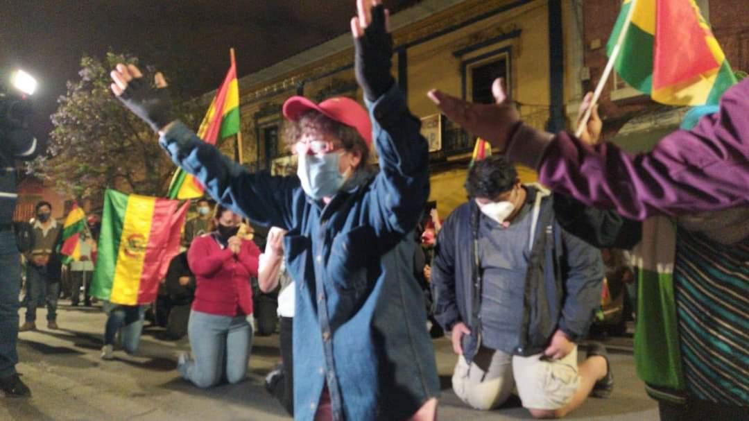 Opositores piden anulación de las elecciones de Bolivia