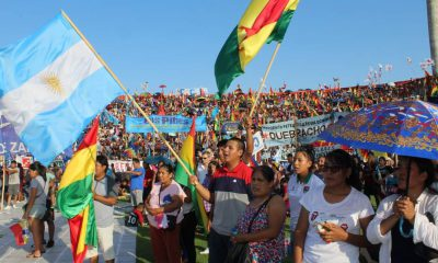 Voto de los bolivianos en Buenos Aires Argentina