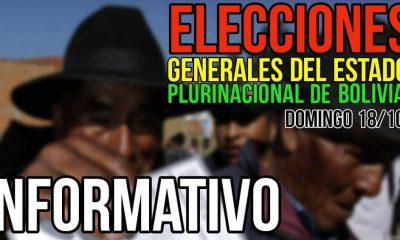 Donde voto para las elecciones de Bolivia