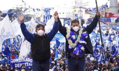 Juramento de Luis Arce Bolivia