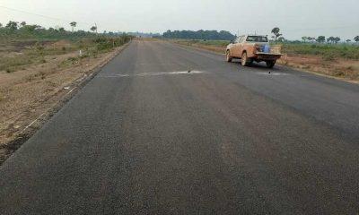 Carretera en el Beni