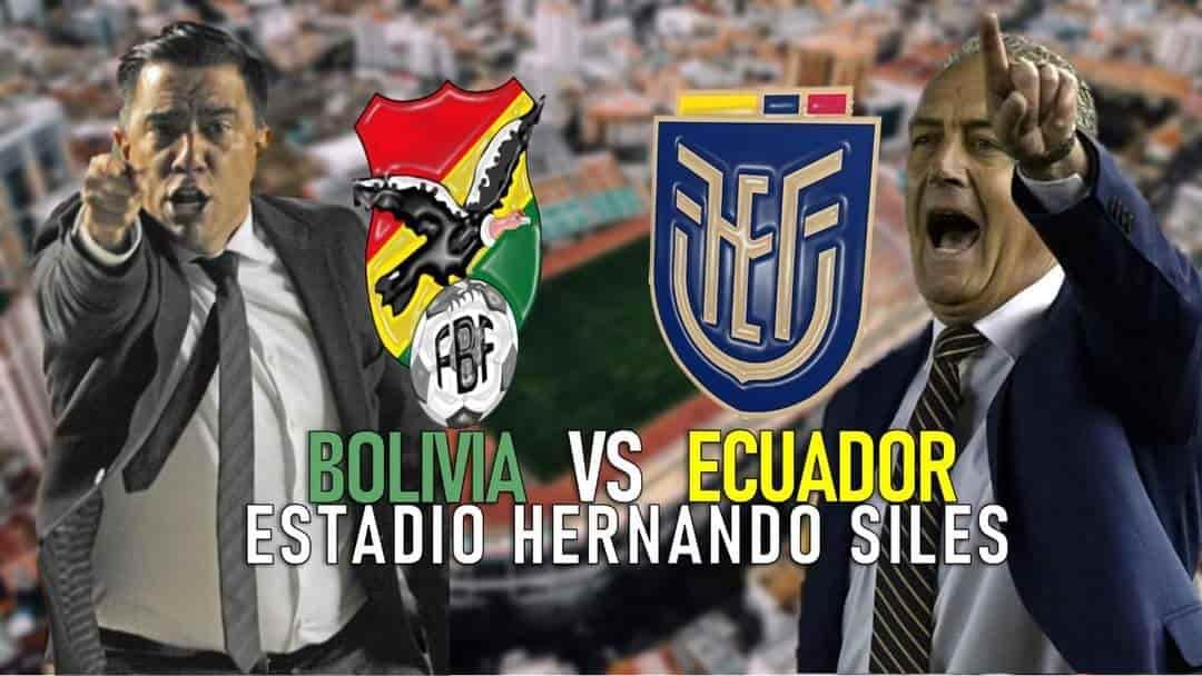 Bolivia vs Ecuador en vivo