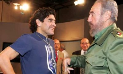 Maradona murió el mismo día que Fidel Castro