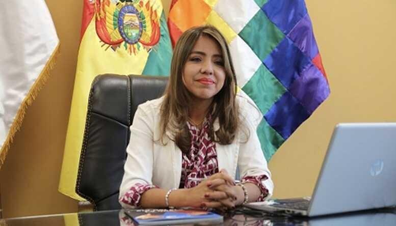 viceministra de Comunicación