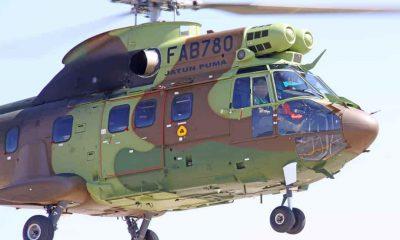 Helicóptero Súper Puma de Bolivia