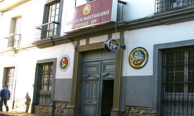 Institutos de Investigación Forense