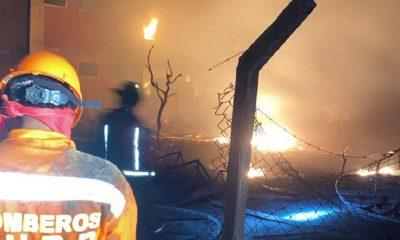 Incendio YPFB Santa Cruz