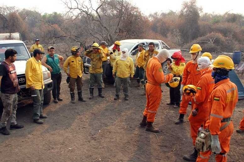 Incendios en Santa Cruz