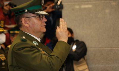 Comandante de Policía Boliviana