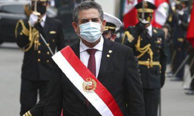 Presidente interino de Perú