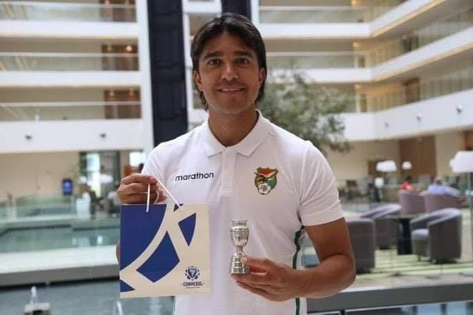 Jugador boliviano Marcelo Martins