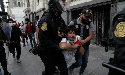 Protestas en el Perú