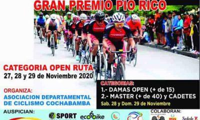Ciclismo en Cochabamba