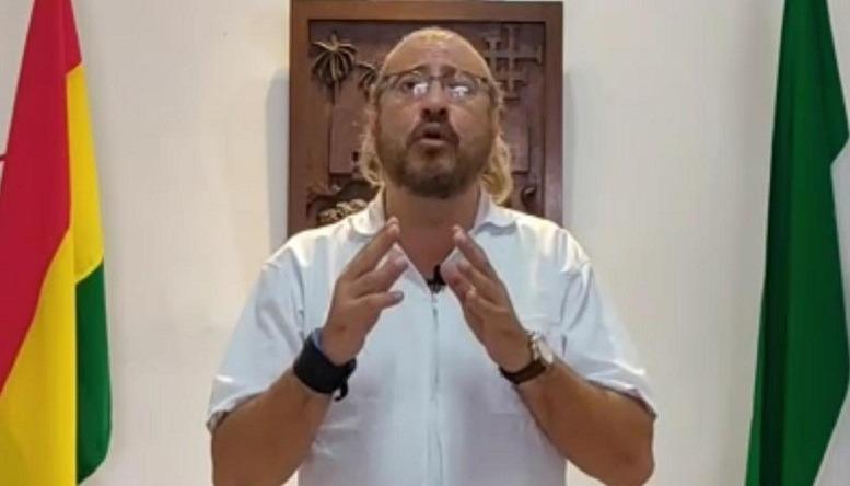 Presidente del Comite Cívico de Santa Cruz