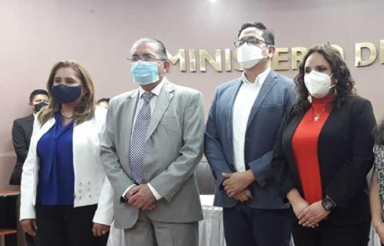 Viceministros de salud
