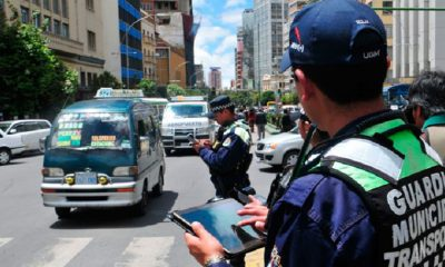 Transportistas La Paz