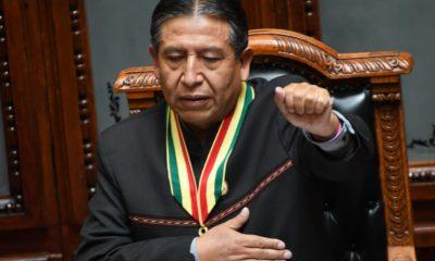 David Choquehuanca vicepresidente de Bolivia