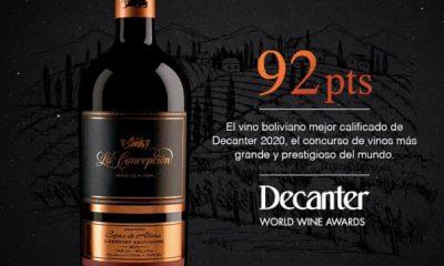 Vino boliviano mejor rankeado en el Decanter World Wine Awards